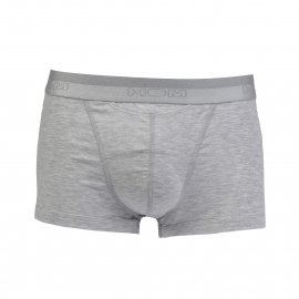 Boxer ouvert HOM HO1 Basic en modal stretch gris clair chiné