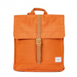Sac à dos Herschel City Mid-Volume 14L rouge brique