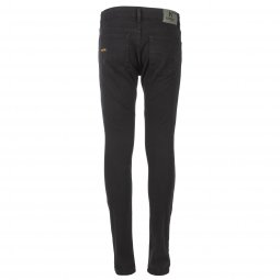 Jean slim Kaporal Junior Cegob en coton stretch noir