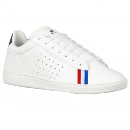 Baskets Le Coq Sportif Light courtstar sport optical blanches