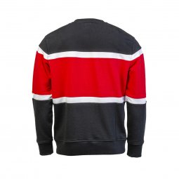 Sweat col rond Levi's Pieced en coton noir, blanc et rouge