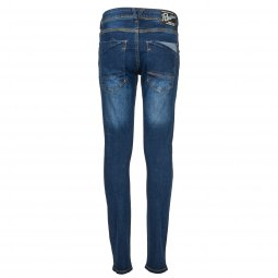 Jean slim Petrol Industries Junior Shelby en coton stretch bleu
