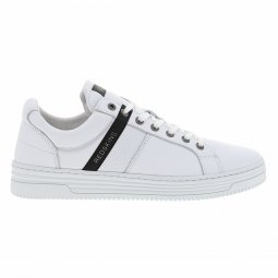 Baskets Redskins Enoss en cuir blanc
