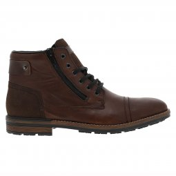 Bottines montantes Rieker en cuir marron