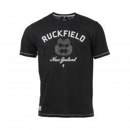 Tee-Shirt Ruckfield Road To Japan en coton noir