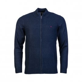 Gilet zippé Teddy Smith Erico bleu marine chiné