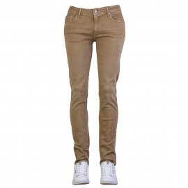 Pantalon slim Teddy Smith Reeple Rock en coton mélangé beige