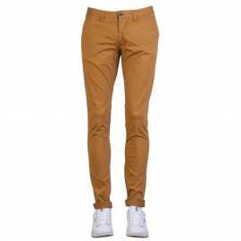 Pantalon Teddy Smith en coton stretch camel