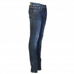 Jean super skinny Teddy Smith Junior Flash en coton stretch bleu brut délavé