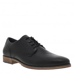 Derbies Bullboxer en cuir noir