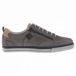 Baskets Fluchos Quebec en cuir gris