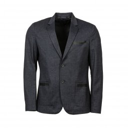 Blazer cintré Guess Slim fit gris anthracite
