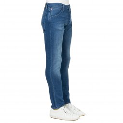 Jean slim JJiglenn Fox Jack & Jones en coton mélangé bleu denim
