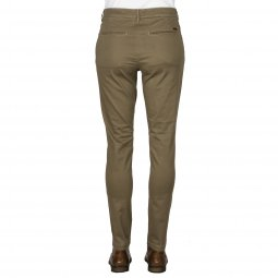 Pantalon Jack & Jones Marco Bowie en coton stretch beige
