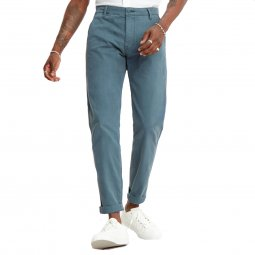 Pantalon Levi's Chino en coton stretch bleu