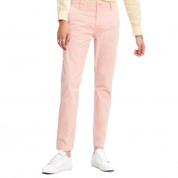 Pantalon Levi's Chino en coton stretch rose