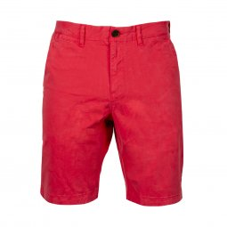 Short Superdry Chino en coton stretch rose
