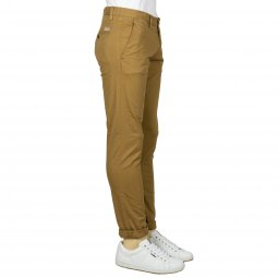 Pantalon Teddy Smith en coton stretch marron clair
