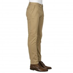 Pantalon Tom Tailor en coton stretch beige
