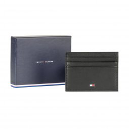 Porte-cartes Tommy Hilfiger Essential Hold noir