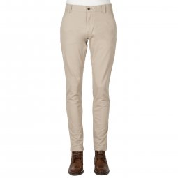 Pantalon chino Tommy Jeans Scanton en coton stretch gris