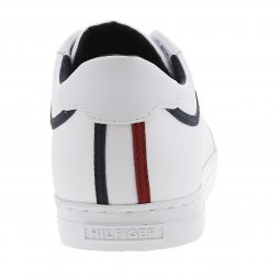 Baskets Tommy Hilfiger Essential en cuir blanc