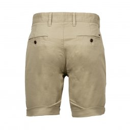 Short Tommy Jeans Essential en coton stretch beige