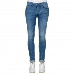 Jean Freeman T.Porter Jimmy en coton stretch bleu clair
