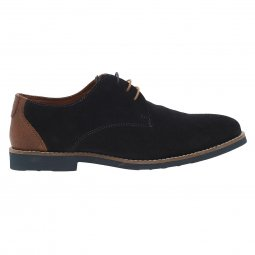 Derbies Redskins Ferval en cuir marine