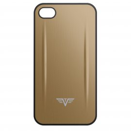 Coque Iphone 4/4S Shell Tru Virtu Taupe