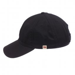 Casquette Levi's Classic Twill Red Tab Baseball en coton noir