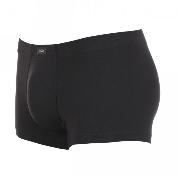 Boxer HOM Business en coton stretch noir