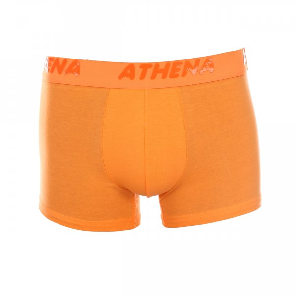 Lot de 2 boxers Athena Fluo Mix Stabilo orange fluo et blanc