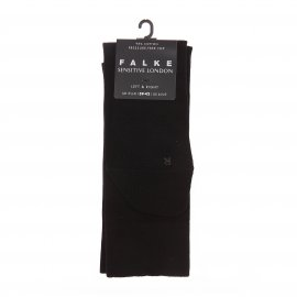 Chaussettes Sensitive London Falke en coton noir
