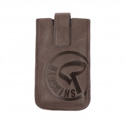 Etui pour iPhone Redskins en cuir taupe