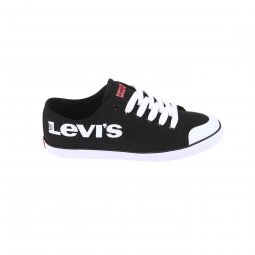 Baskets Venice Beach Low Levi's en canevas noir