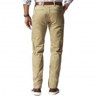 Neuf avec étiquettes pour homme DOCKERS Moderne KHAKI SLIM TAPERED Flat Front $58 Bleu Marine 49931-0122
