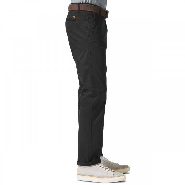 Pantalon Alpha Khaki Original Slim Tapered Dockers en twill noir