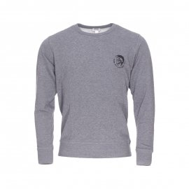 Sweat col rond Diesel Willy  gris chiné