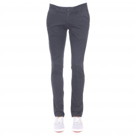 Pantalon chino slim Teddy Smith noir