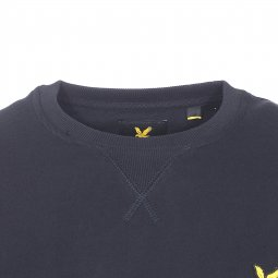 Sweat Lyle & Scott en coton noir