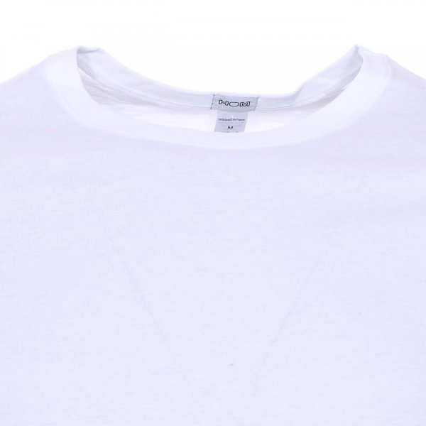 Lot de 2 tee-shirts col rond Hom Daily cotton blanc
