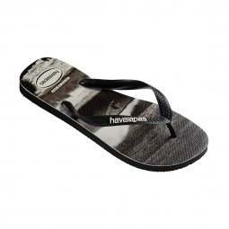 Tongs Havaianas Top photoprint noires