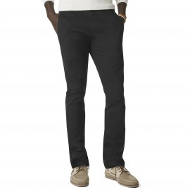 Pantalon Alpha Stretch Khaki Original Skinny Tapered Dockers en sergé de coton noir