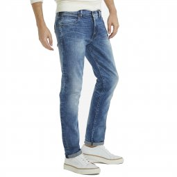 Jean slim tapered Larston Wrangler Blue Mick