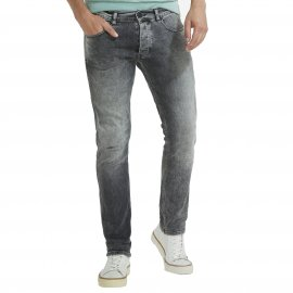 Jean slim Spencer Wrangler Pebble grey