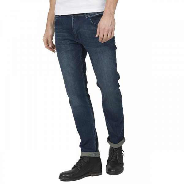 Jean tapered fit Tymore 13 Petrol industries bleu brut