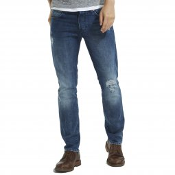 Jean slim Spencer Wrangler crafted indigo