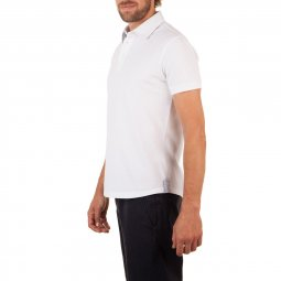Polo Manches Courtes en coton Blanc The Sailor