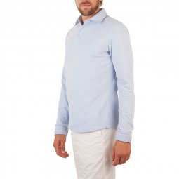 Polo Manches longues en coton The Sailor